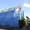 外壁塗装の足場